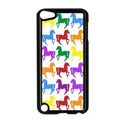 Colorful Horse Background Wallpaper Apple Ipod Touch 5 Case (black)