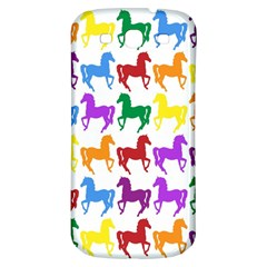 Colorful Horse Background Wallpaper Samsung Galaxy S3 S Iii Classic Hardshell Back Case