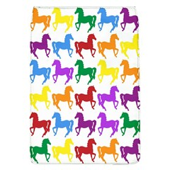 Colorful Horse Background Wallpaper Flap Covers (l)