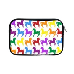 Colorful Horse Background Wallpaper Apple Ipad Mini Zipper Cases