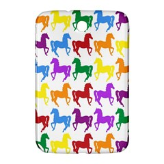 Colorful Horse Background Wallpaper Samsung Galaxy Note 8 0 N5100 Hardshell Case