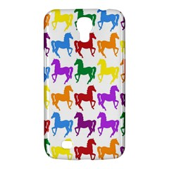 Colorful Horse Background Wallpaper Samsung Galaxy Mega 6 3  I9200 Hardshell Case