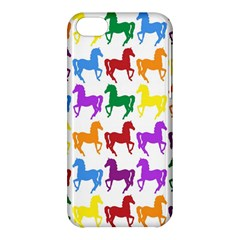 Colorful Horse Background Wallpaper Apple iPhone 5C Hardshell Case