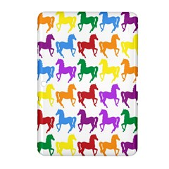 Colorful Horse Background Wallpaper Samsung Galaxy Tab 2 (10 1 ) P5100 Hardshell Case