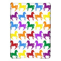 Colorful Horse Background Wallpaper Ipad Air Hardshell Cases