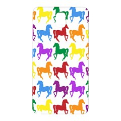Colorful Horse Background Wallpaper Samsung Galaxy Note 3 N9005 Hardshell Back Case