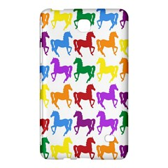 Colorful Horse Background Wallpaper Samsung Galaxy Tab 4 (8 ) Hardshell Case
