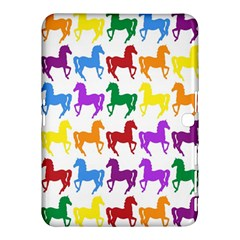 Colorful Horse Background Wallpaper Samsung Galaxy Tab 4 (10 1 ) Hardshell Case