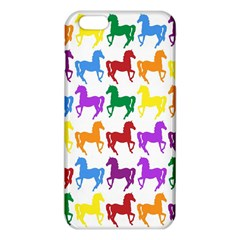 Colorful Horse Background Wallpaper Iphone 6 Plus/6s Plus Tpu Case