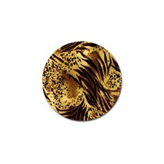 Stripes Tiger Pattern Safari Animal Print Golf Ball Marker (4 Pack)