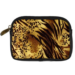 Stripes Tiger Pattern Safari Animal Print Digital Camera Cases