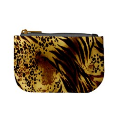 Stripes Tiger Pattern Safari Animal Print Mini Coin Purses