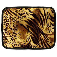 Stripes Tiger Pattern Safari Animal Print Netbook Case (xxl)