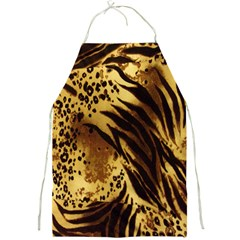 Stripes Tiger Pattern Safari Animal Print Full Print Aprons