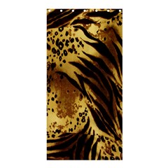 Stripes Tiger Pattern Safari Animal Print Shower Curtain 36  X 72  (stall)