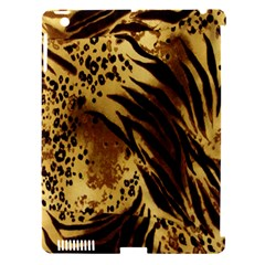 Stripes Tiger Pattern Safari Animal Print Apple iPad 3/4 Hardshell Case (Compatible with Smart Cover)