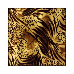 Stripes Tiger Pattern Safari Animal Print Acrylic Tangram Puzzle (6  X 6 )