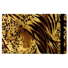 Stripes Tiger Pattern Safari Animal Print Apple Ipad 2 Flip Case