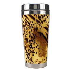 Stripes Tiger Pattern Safari Animal Print Stainless Steel Travel Tumblers