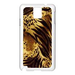 Stripes Tiger Pattern Safari Animal Print Samsung Galaxy Note 3 N9005 Case (white)