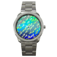 Animal Nature Cartoon Wild Wildlife Wild Life Sport Metal Watch