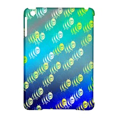 Animal Nature Cartoon Wild Wildlife Wild Life Apple Ipad Mini Hardshell Case (compatible With Smart Cover)