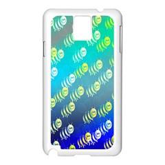 Animal Nature Cartoon Wild Wildlife Wild Life Samsung Galaxy Note 3 N9005 Case (White)
