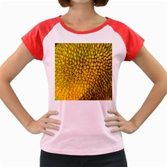 Jack Shell Jack Fruit Close Women s Cap Sleeve T Shirt