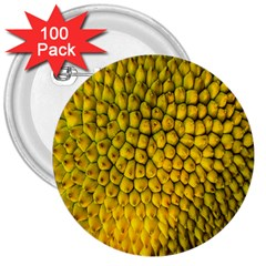 Jack Shell Jack Fruit Close 3  Buttons (100 Pack)