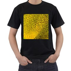 Jack Shell Jack Fruit Close Men s T-Shirt (Black) (Two Sided)
