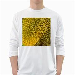Jack Shell Jack Fruit Close White Long Sleeve T Shirts