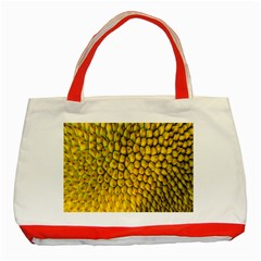 Jack Shell Jack Fruit Close Classic Tote Bag (red)