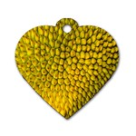 Jack Shell Jack Fruit Close Dog Tag Heart (One Side) Front