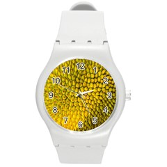 Jack Shell Jack Fruit Close Round Plastic Sport Watch (m)