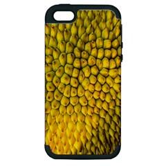 Jack Shell Jack Fruit Close Apple Iphone 5 Hardshell Case (pc+silicone)