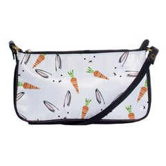 Rabbit Carrot Pattern Weft Step Shoulder Clutch Bags