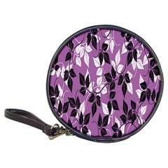 Floral Pattern Background Classic 20 Cd Wallets
