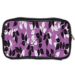 Floral Pattern Background Toiletries Bags