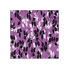 Floral Pattern Background Acrylic Tangram Puzzle (4  X 4 )