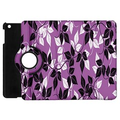 Floral Pattern Background Apple Ipad Mini Flip 360 Case
