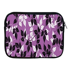 Floral Pattern Background Apple Ipad 2/3/4 Zipper Cases