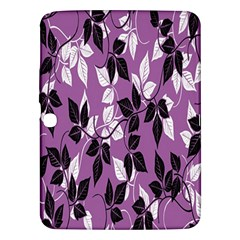 Floral Pattern Background Samsung Galaxy Tab 3 (10 1 ) P5200 Hardshell Case