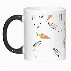 Rabbit Carrot Pattern Weft Step Morph Mugs