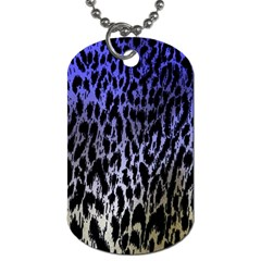 Fabric Animal Motifs Dog Tag (one Side)