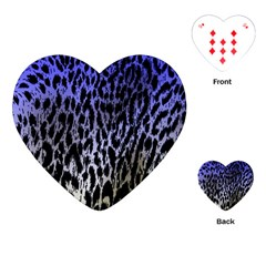 Fabric Animal Motifs Playing Cards (heart)