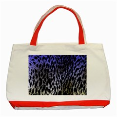 Fabric Animal Motifs Classic Tote Bag (red)