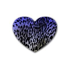 Fabric Animal Motifs Heart Coaster (4 Pack)