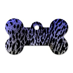 Fabric Animal Motifs Dog Tag Bone (two Sides)