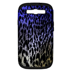 Fabric Animal Motifs Samsung Galaxy S Iii Hardshell Case (pc+silicone)