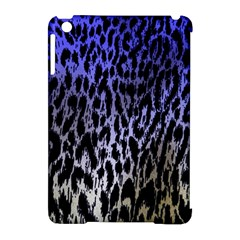 Fabric Animal Motifs Apple Ipad Mini Hardshell Case (compatible With Smart Cover)